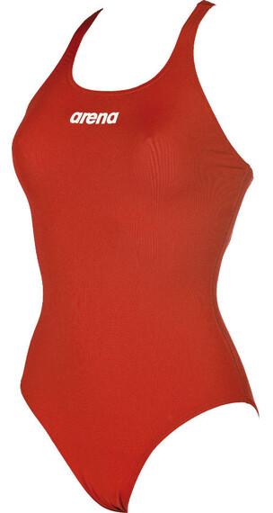 arena Solid Swim Pro Badpak Dames rood